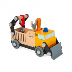 Brico'kids wooden builder's truck