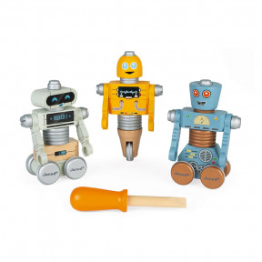 Robot da costruire Brico'kids
