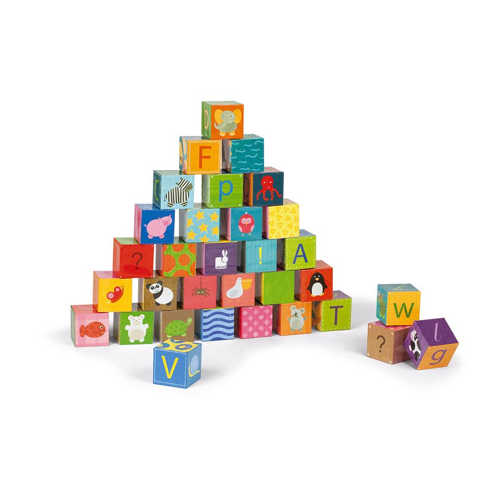 Kubkid - Alphabet - 32 cubes