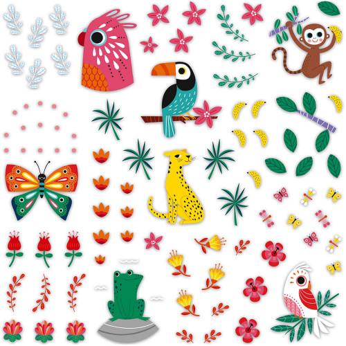 Kit Créatif Galets à Décorer, loisir créatif, pierres, peinture et stickers, pour enfant dès 6 ans JANOD