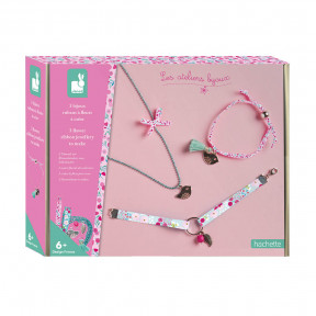 Creative Kit - 3 Flower-Themed Jewellery Ribbons to Create