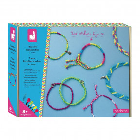 Creative Kit - 7 Brazilian Fluorescent Bracelets to Create