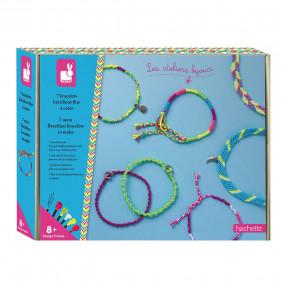 Kit Créatif - 7 Bracelets Brésiliens Fluo à Créer