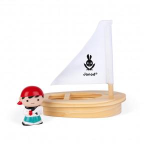 Badespielzeug Wasserspritzer Piraten-Set mit Boot (türkis)