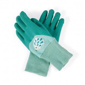 Handschuhe Türkis