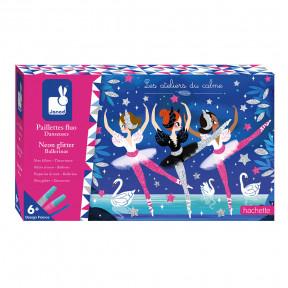 Kit Créatif - Paillettes Fluo Danseuses