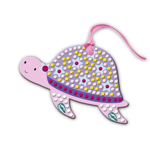 Kit créatif pixel strass petites décos, loisir créatif, décorations à suspendre, pour enfant dès 7 ans JANOD
