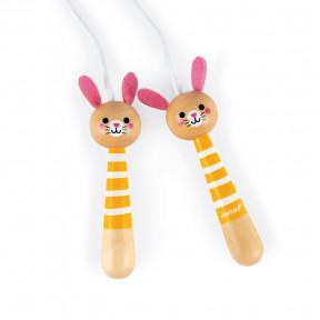 Cuerda de Saltar Conejos (madera)