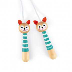 Fox Skipping Rope (wood)