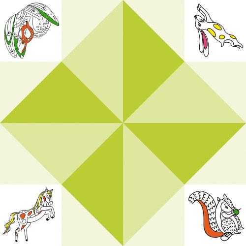 Kit créatif coffret multi-activités 17 réalisations animaux, loisirs créatifs, thème animal, pour enfant dès 6 ans JANOD