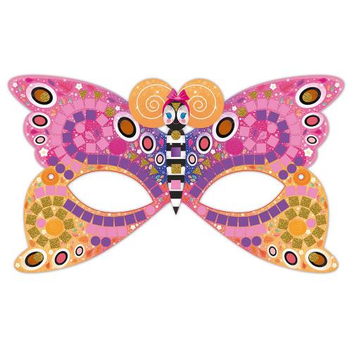 Kit créatif mosaïques masques, loisir créatif, masques à décorer, pour enfant dès 7 ans JANOD