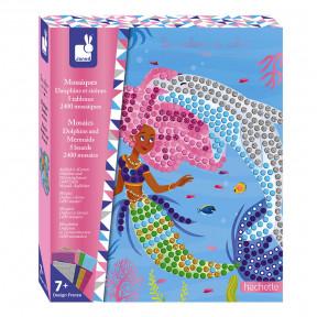 Kreativ-Set - Delfin- und Meerjungfrauen-Mosaike