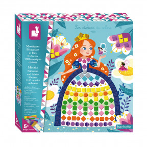 Kreativ-Set - Prinzessinnen- und Feen-Mosaike