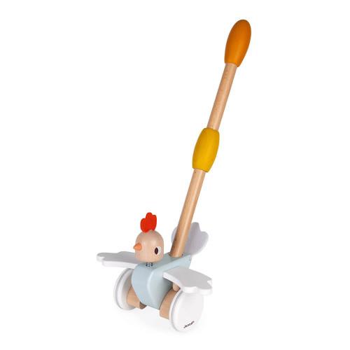 Poulette à pousser, jouet d'éveil, développer la motricité, jouet réglable, pour enfant dès 18 mois JANOD
