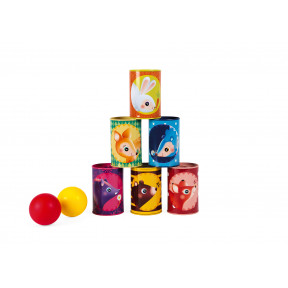 Forest Tumbling Cans