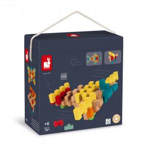 100-Piece Wooden Construction Kit
