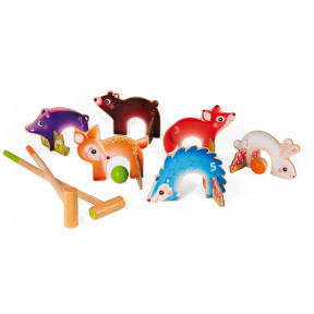 Forest Animals Croquet (wood)