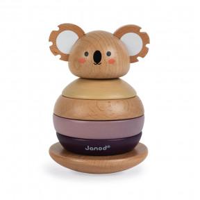 Tentetieso apilable de madera Koala - Colaboración con WWF®