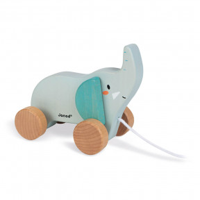Walk-along wooden elephant - In partnership with WWF®
