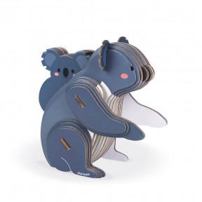 Puzzle Koala 3D à assembler en carton - Partenariat WWF®
