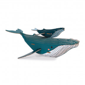 Build-it-Yourself 3D Cardboard Whale Puzzle - In partnership with WWF®