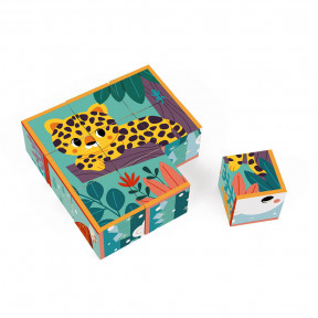 Animals Cardboard Cubes Set - In partnership with WWF®