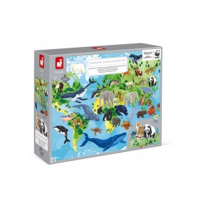 350-teiliges Lernpuzzle Die prioritären Arten - WWF®-Partnerschaft