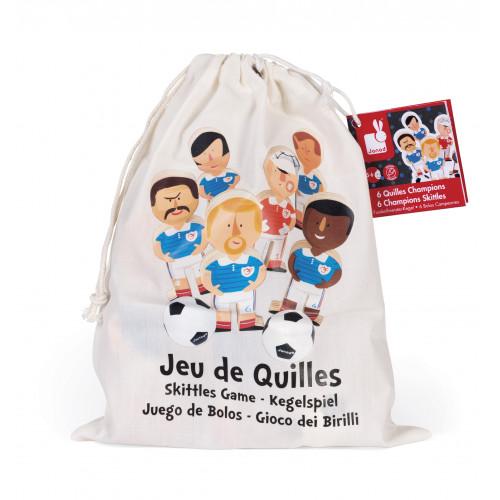 Jeu de Quilles Champions (bois)