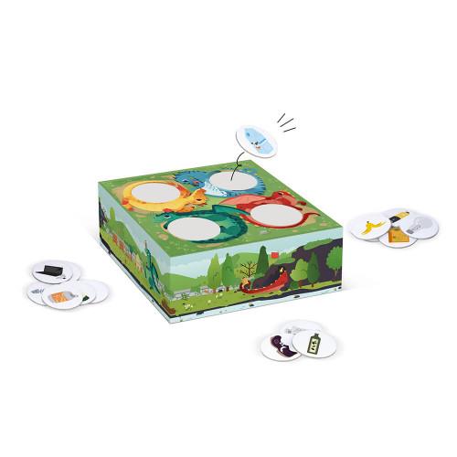 Jeu de coopération Recycle Game partenariat WWF, certifié FSC, made in France, jeu de société, pour enfant dès 5 ans JANOD