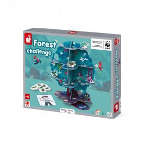 Jeu de parcours Forest Challenge - Partenariat WWF®