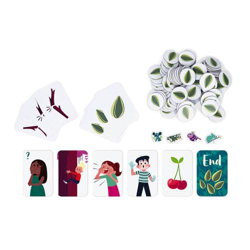 Jeu de parcours forest challenge partenariat WWF, certifié FSC, made in France, jeu de société, coopération, pour enfant dès 6 a