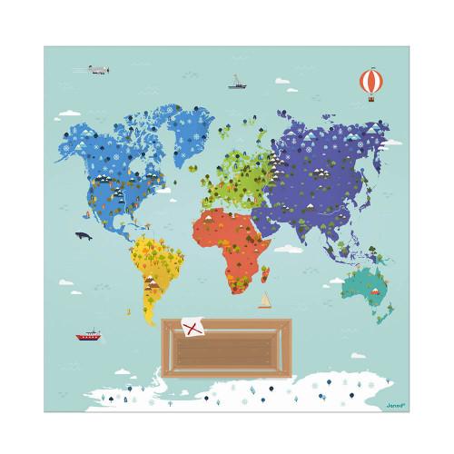 Jeu Veggie Planet partenariat WWF, certifié FSC, made in France, jeu de société, apprentissage, ludique, pour enfant dès 5 ans J