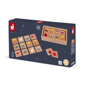 Memory Game - Memo 1Ers Mots (wood)