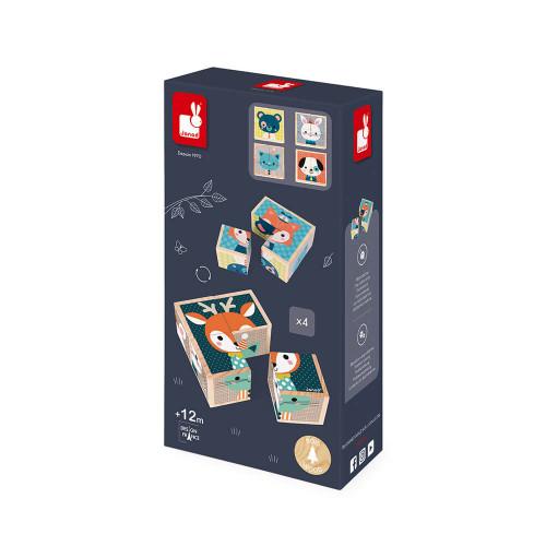 Mes Premiers Cubes - Portraits de la Forêt (bois)