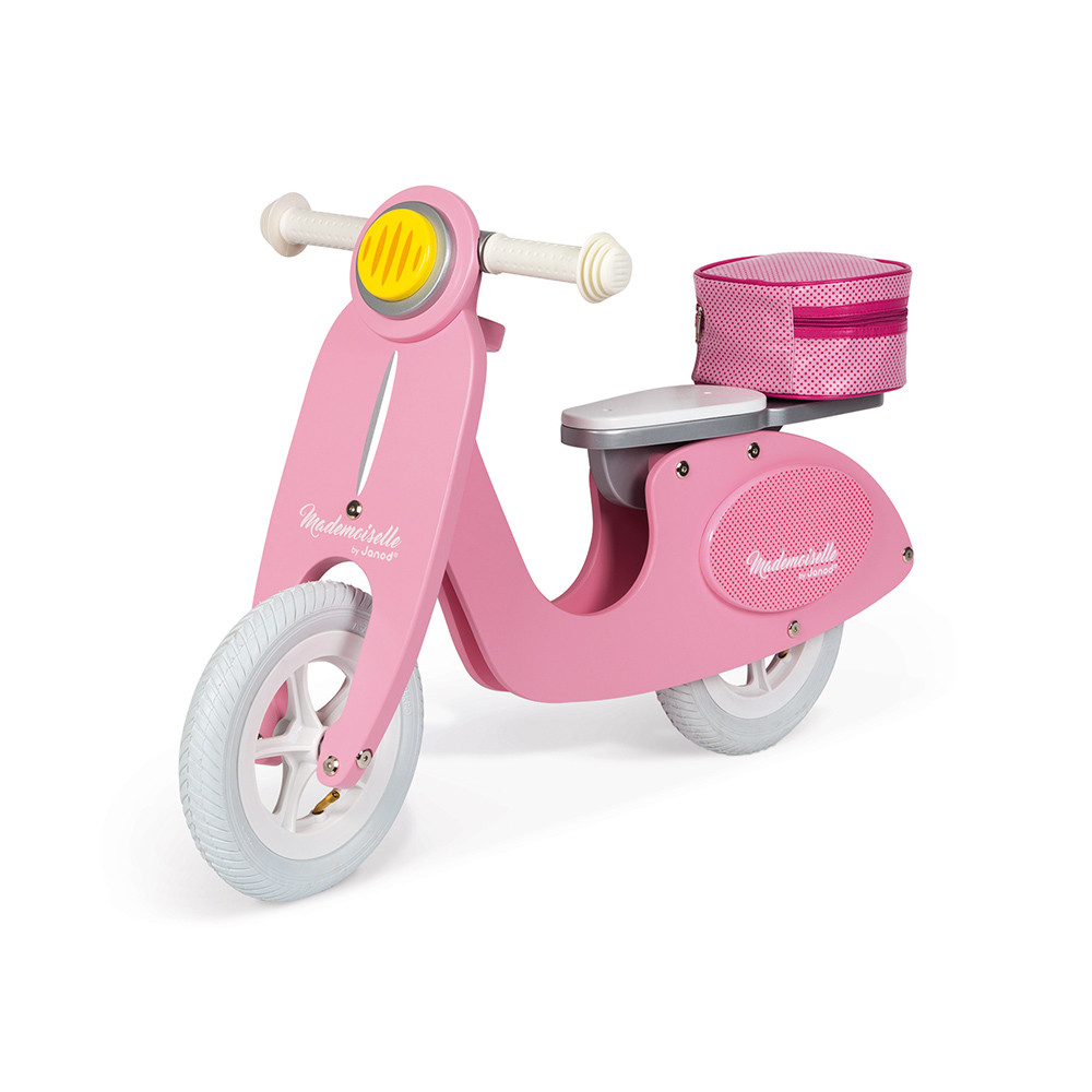 Draisienne Scooter Rose Mademoiselle (bois)