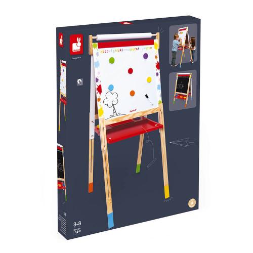 Tableau Réglable Splash en bois 22 accessoires enfant à partir de 3 ans