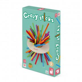 Geschicklichkeitsspiel Crazy Sticks (Holz)