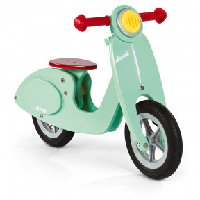 Bicicletta Scooter Color Menta (legno)