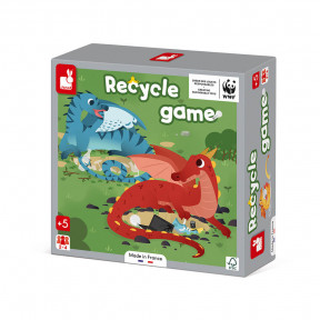 Jeu de coopération - Recycle Game - Partenariat WWF®