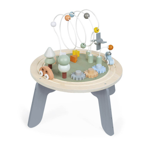 Table d'Activités Sweet Cocoon en bois éveil design enfant à partir de 1 an