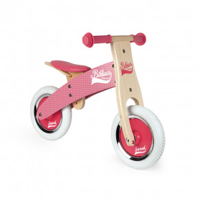 Little Bikloon My First Balance Bike Pink (wood)
