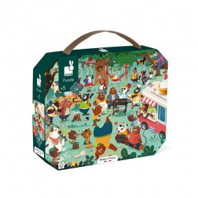 Puzzle Family Bears - 54 PCS