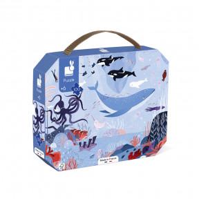 """Puzzle"""" Arktischer Ozean""""  im Koffer  (100 TEILE)"""