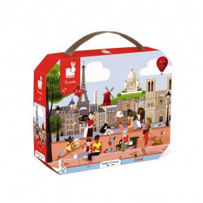 """Puzzle """"Paris"""" im Koffer (200 TEILE)"""