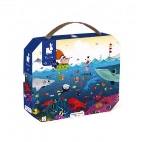 Puzzlekoffer Unterwasser 100 Teile