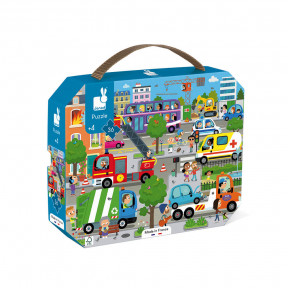 """Puzzle """"City"""" im Koffer (36 TEILE)"""