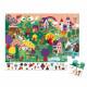 Puzzle d'observation en carton FSC, 24 pièces, valisette, encre végétale, made in france, pour enfant dès 3 ans JANOD
