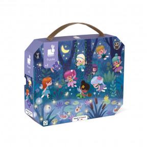 """Puzzle """"Feen & Wasserlilien"""" im Koffer (36 TEILE)"""