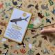 Jeu cherche et trouve Animaux Menacés, jeu de société, observation éducatif, pour enfant à partir de 6 ans JANOD