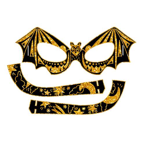 Scratch Art Masques et Lunettes Animaux